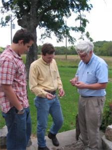 Kenny Smith, Jeff Briggler, Bob Aldridge