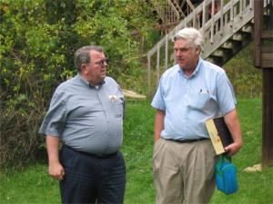 Don Kangas and Bob Aldridge