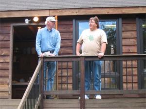 Mike Jones and Richard Daniel