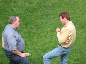 Don Kangas and Jeff Briggler