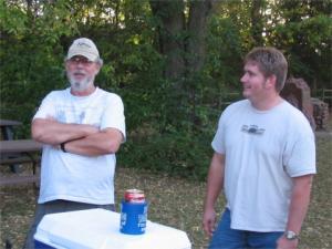Bob Powell and Richard Morrow