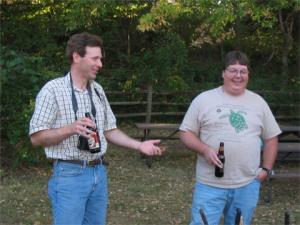 Jeff Briggler and Richard Daniel