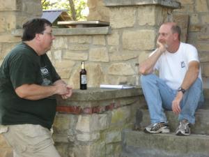 Richard Daniel and Brian Greene