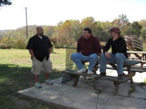 Daren Riedle, Richard Daniel, Chad Montgomery