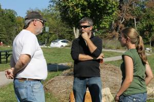 Bob Powell, Chad Montgomery, Katie Allen