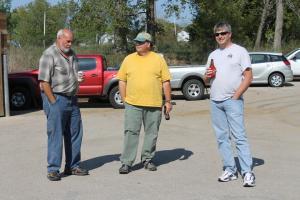 Bob Kraeger, Richard Daniel, Glenn Manning