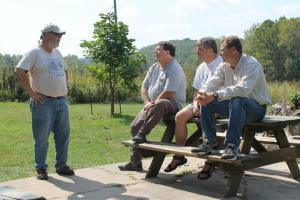 Bob Powell, Richard Daniel, Glenn Manning, Jeff Briggler