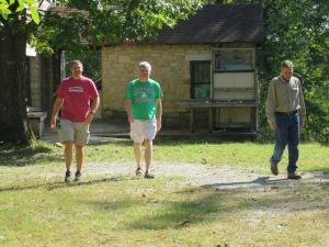 Jeff Kimmons, Glenn Manning, Jeff Briggler