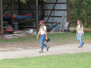 Sarah White and Megan Mosier