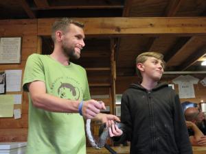 Ben Dalton and Logan Clark