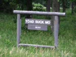 Toad Suck, Missouri