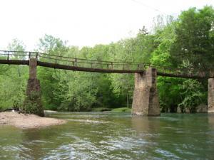 Old bridge on Big Creek